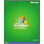 MS Windows XP Home Edition - complete package