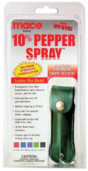 Mace™ Pepper Spray Green Leatherette