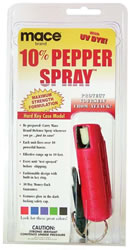 Mace™ Pepper Spray Red Hard Key Case